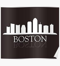 skyline boston Poster