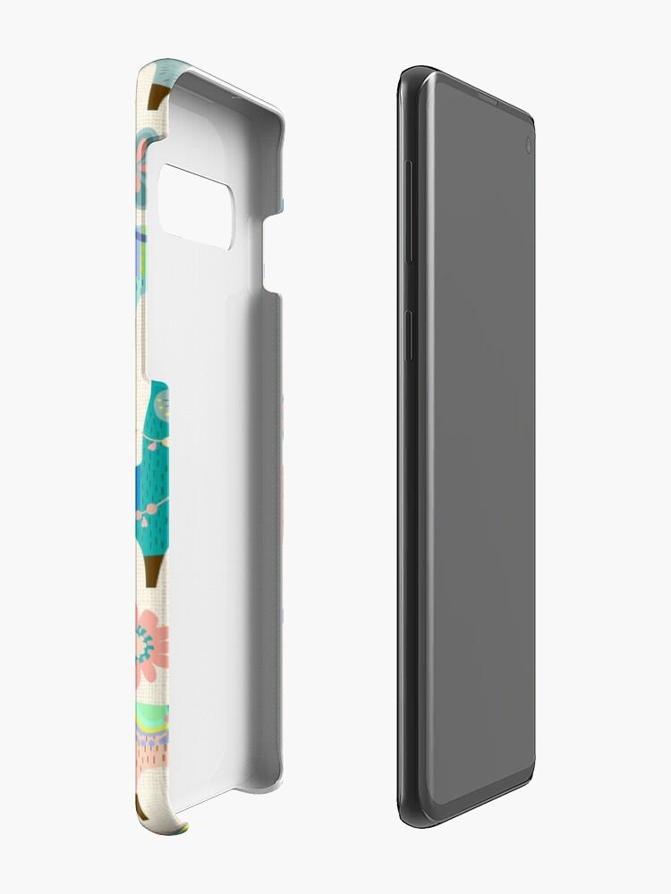 Alternate view of Llama Fun  Case & Skin for Samsung Galaxy