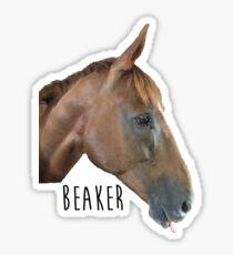 Beaker Sticker