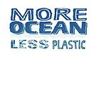 More Ocean, Less Plastic by jitterfly