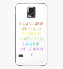 Femslash Ship Quotes (For Charity) Case/Skin for Samsung Galaxy