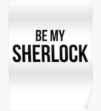 Be My Sherlock Poster