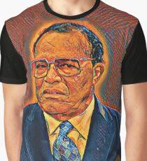 Tha Liberator - Louis Farrakhan Graphic T-Shirt