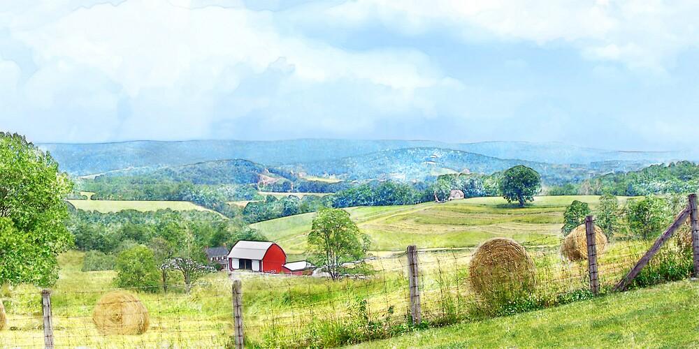 Valley Farm by Francesa