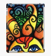 Bunte aufgehende Sommersonne iPad-Hülle & Klebefolie