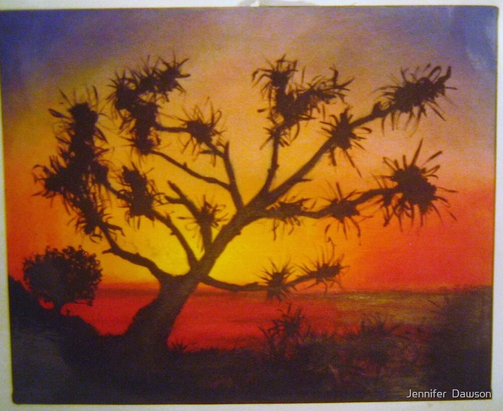 'the desert' by Jennifer  Dawson