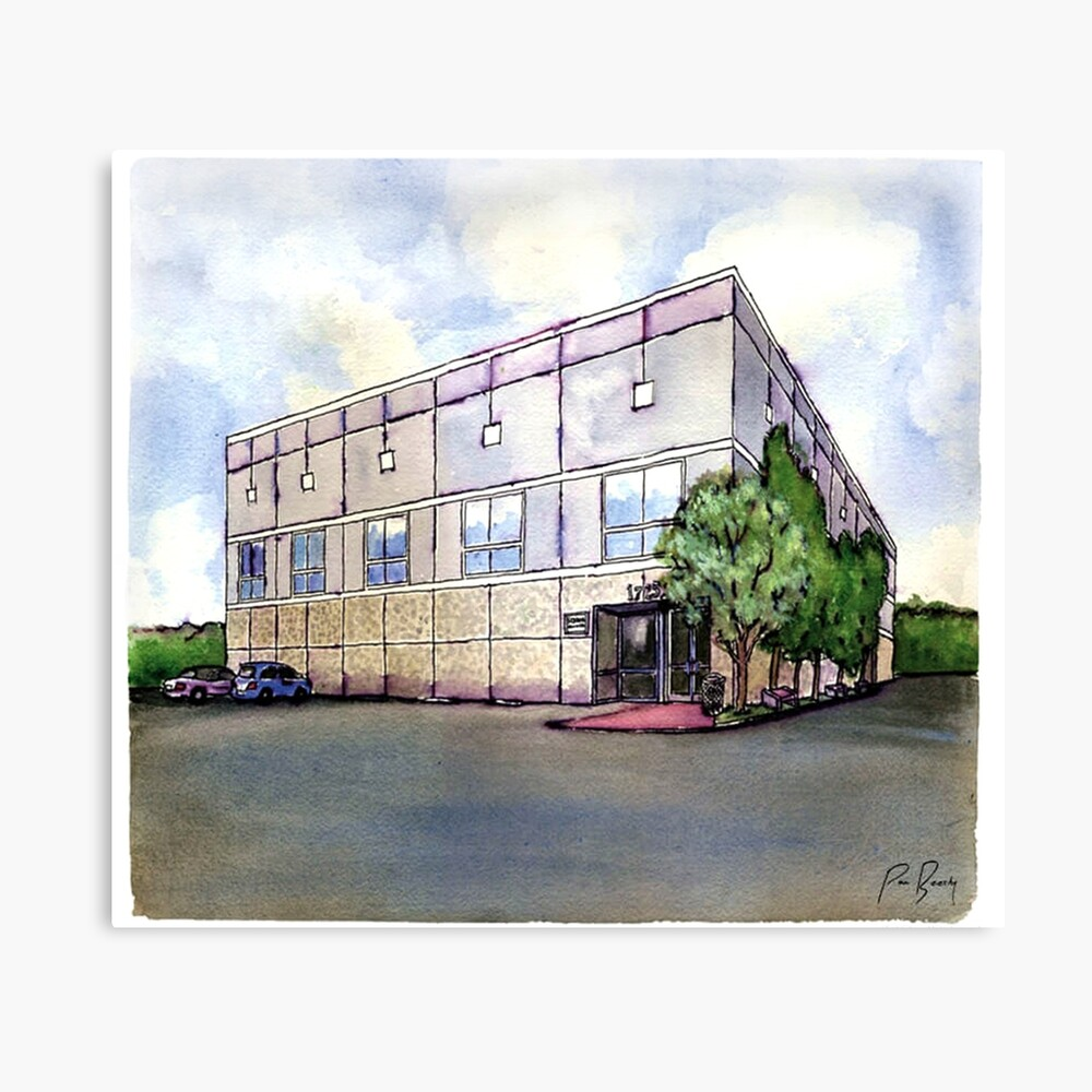The Office By Pam Beesly(Halpert) Canvas Print