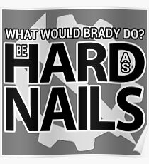WWBD? Be Hard As Nails | Hello Internet Podcast Poster