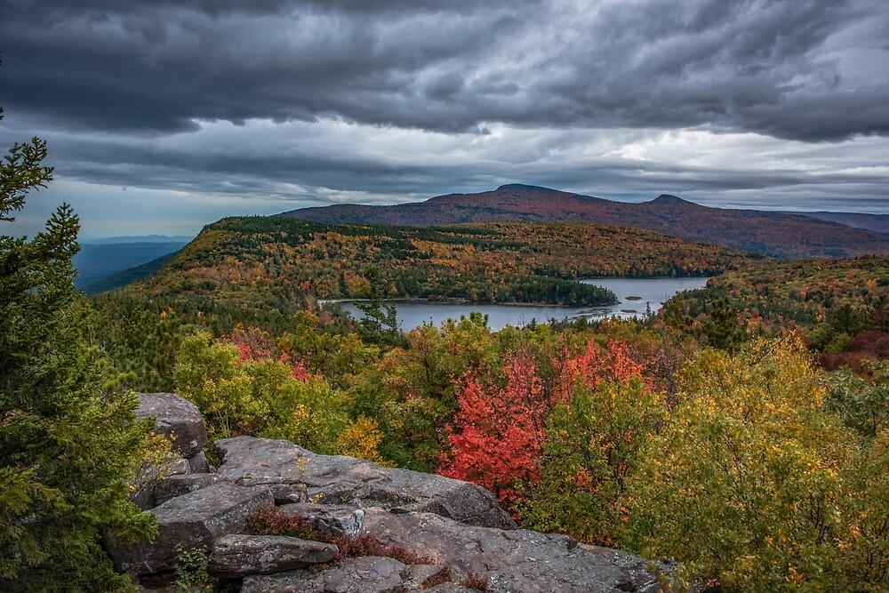 North-South Lake, New York by mattmacpherson