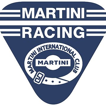 Martini Racing Club monochrome (blue) by JRLdesign
