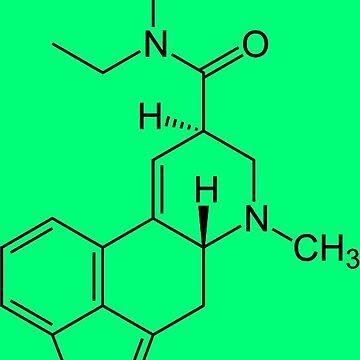 LSD Molecule by eldar