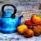 The Blue Teapot by jean-louis bouzou