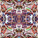 Leaves Organized II by Mike Solomonson