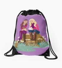 Fashion Girls Drawstring Bag