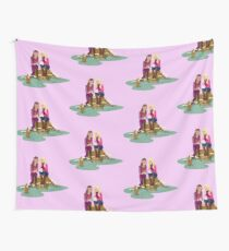 Fashion Girls Wall Tapestry