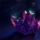 Crystal Cluster by FaerytaleWings