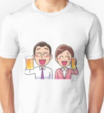 Business drinking party. T-Shirt