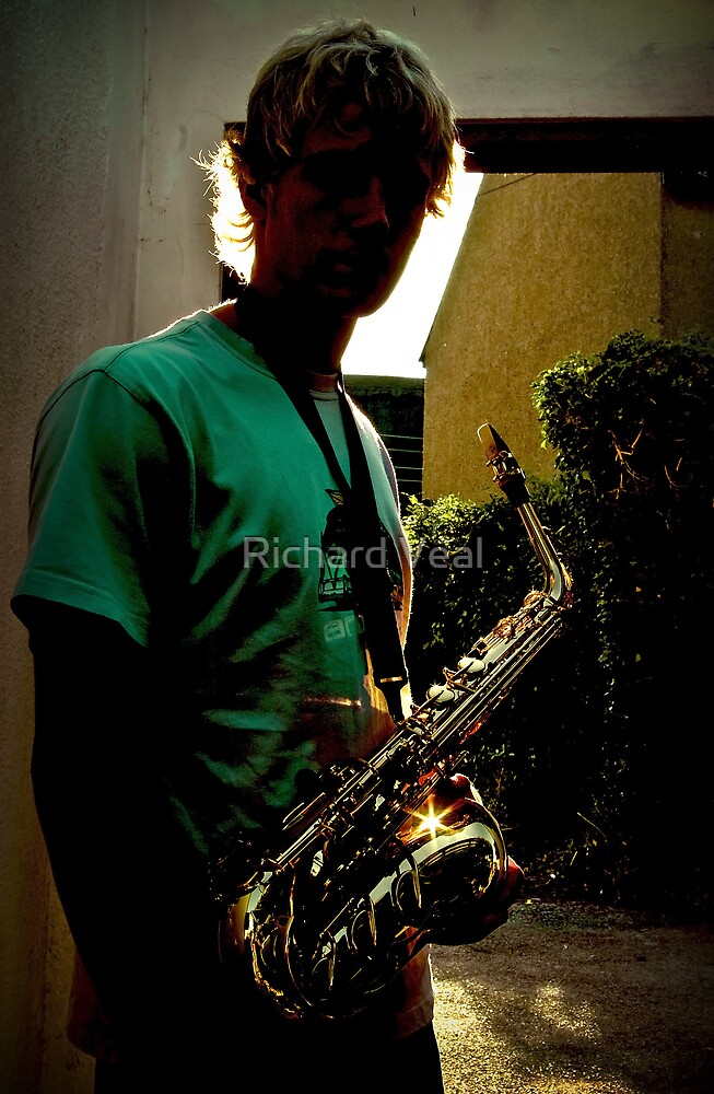 Sax in Silhouette by kcphotography