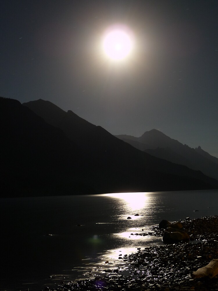 Night at waterton by Nodnyl
