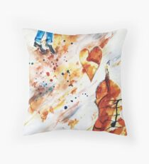 Step Dancing with Melody  Throw Pillow