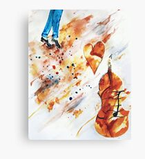 Step Dancing with Melody  Canvas Print