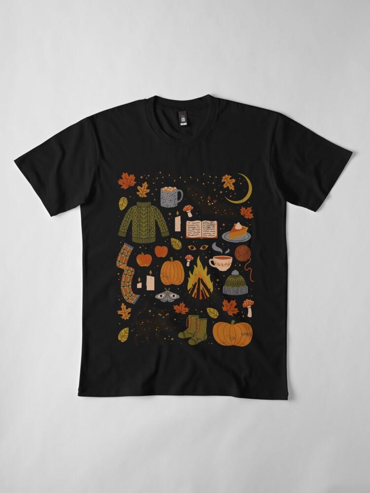 Alternate view of Autumn Nights Premium T-Shirt
