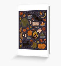 Autumn Nights Greeting Card