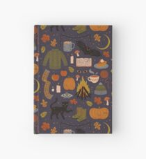 Autumn Nights Hardcover Journal