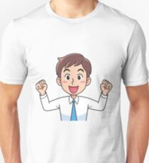 Business man fist pump. T-Shirt