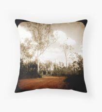 Outback Track Throw Pillow