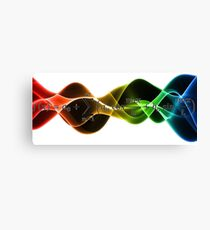 Signal processing Canvas Print