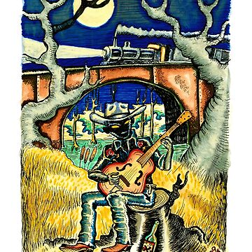 Hank Williams Ramblin Man by WEBuyApparel