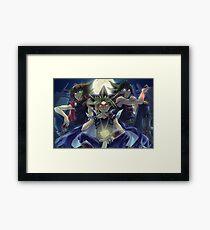 Yu-Gi-Oh! Heroes Framed Print