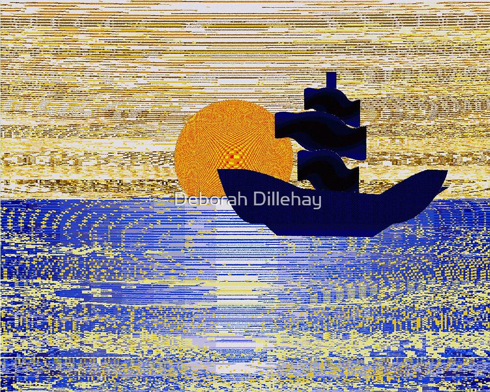 Sailing at Sunset by Deborah McCormick