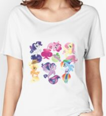 my little pony seaquestria my home Women's Relaxed Fit T-Shirt