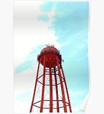 Beach Haven Water Tower Long Beach Island, New Jersey Poster