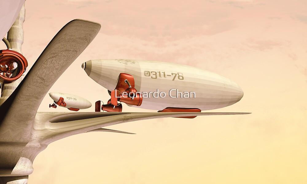 Zeppelin by Leonardo Chan