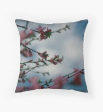 blossom i see Throw Pillow