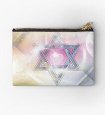 STAR OF DAVID-2- bless and protect- Art + Products Design  Studio Pouch