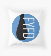 FYFD Classic Logo Throw Pillow