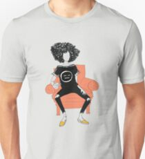 She Sits & She Sips. T-Shirt