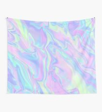 Iridescence Marbled Wall Tapestry