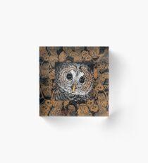 Owls Acrylic Block