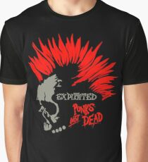 Punks not dead - The exploited Graphic T-Shirt