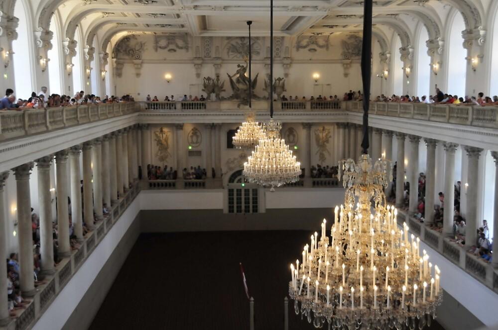 Vienna's Spanish Court Riding School by bertspix