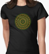 Happi Mandala 6 Women's Fitted T-Shirt