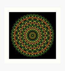 Happi Mandala 6 Art Print