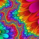 Psychedelic Rainbow Splash by thatstickerguy