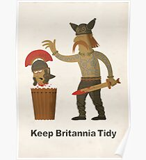 Keep Britannia Tidy Poster
