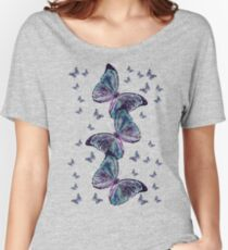 Waltz of the Butterflies | Magical Insects Women's Relaxed Fit T-Shirt